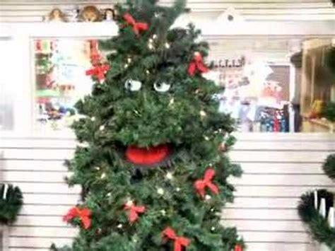 talking christmas tree storybook land nj youtube