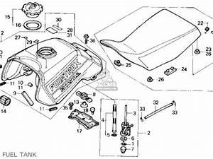 honda trx300 fourtrax 300 1990 l usa parts list With honda trx 90 manual
