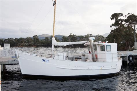 Commercial Fishing Boats For Sale Tasmania by Fishing Vessel 34ft Kamada Commercial Vessels Boat