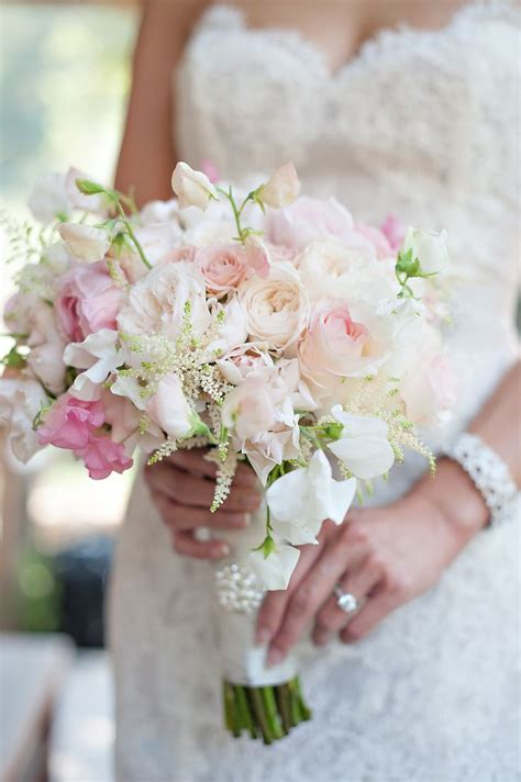 pink bouquet ideas  pinterest pink wedding