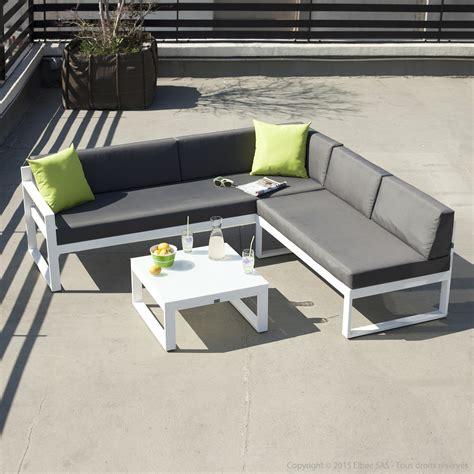 canapé salon de jardin salon de jardin canapé d 39 angle