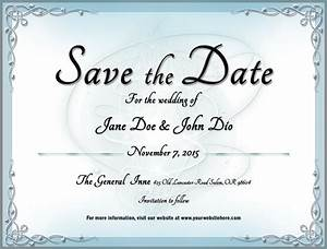 wedding save the date template 2 by mikallica on deviantart With free email save the date templates