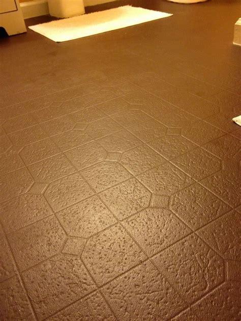 Best 20  Painted Vinyl Floors ideas on Pinterest