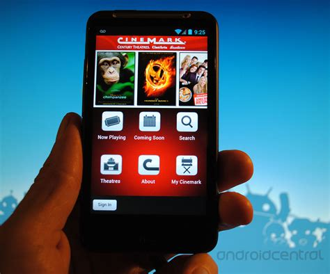 Cinemark debuts new Android app - Find theatres, purchase ...