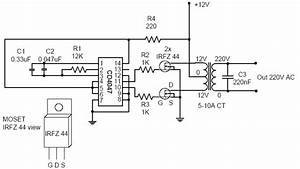 inverter circuit page 6 power supply circuits nextgr With report dc ac pure sine wave inverter