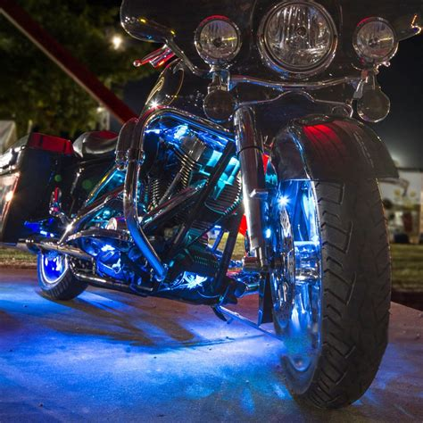 led glow lights 12 ios android app wifi led motorcycle led