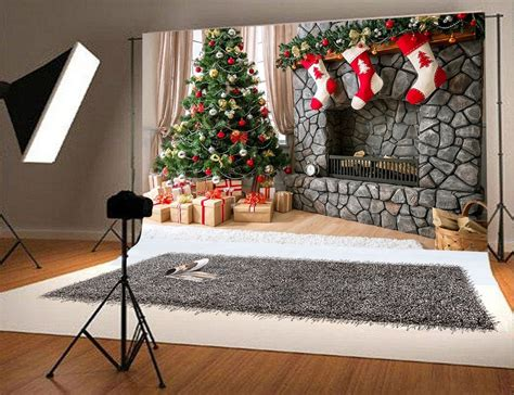 greendecor polyester fabric xft christmas photography