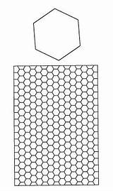 Hexagon Coloring Paper Piecing English Pattern Cut Quilt Square Pre Patterns Fun Patchwork Order Pages Templates Designs Charm Cool Hexagons sketch template