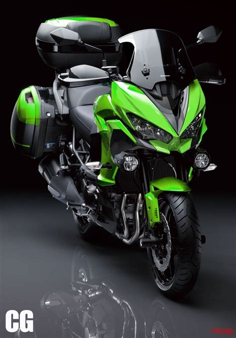 Kawasaki Versys 1000 2019 by 2019 Kawasaki Versys 1000 ใหม เตร ยมใช หน า Zx 6r มาพร อม