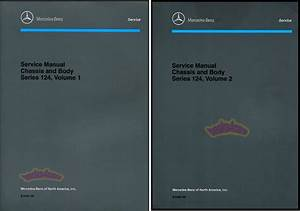 Mercedes Shop Manual Service Repair Book 124 Mb