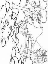 River Coloring Fluss Ausmalbilder Ausdrucken Malvorlagen Kostenlos Zum sketch template