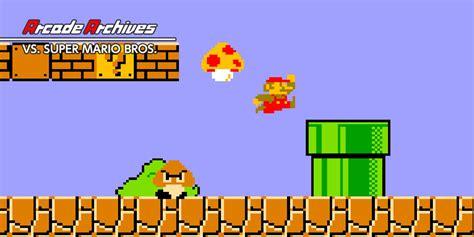 Arcade Archives Vs Super Mario Bros Nintendo Switch