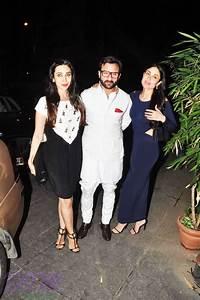 Bebo, Karishma and Saif celebrating mom Babita's birthday ...