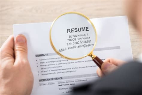 Resume Review effective resume review for hiring managers the resource