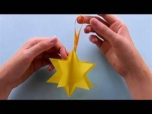 Sterne Aus Papier Falten : sterne basteln mit papier einfache weihnachtssterne falten diy weihnachtsdeko youtube ~ Buech-reservation.com Haus und Dekorationen