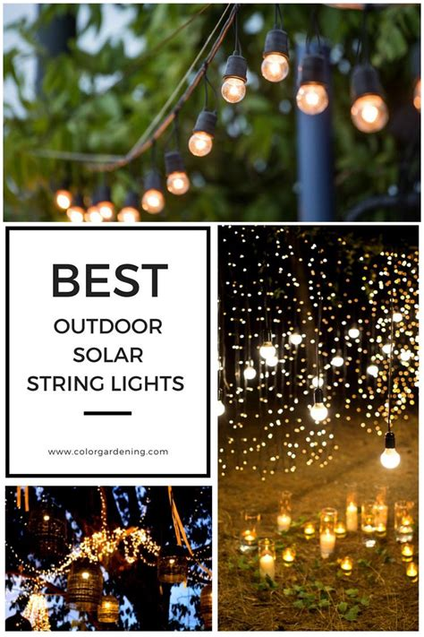 best outdoor solar lights best outdoor solar string lights for patio outdoor party
