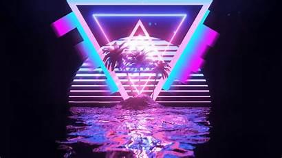 Colors 4k Tropical Visualizer Audio Paradise Neon