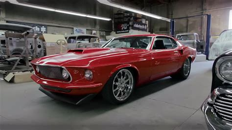 extremely rare and powerful 1969 ford mustang 494 boss