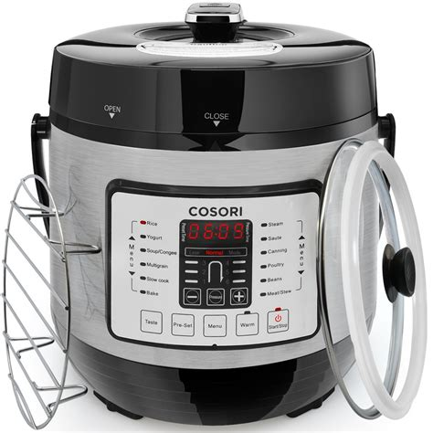 cooker pressure electric cosori slow multi quart rice stainless steel cookers cooking pot brands digital amazon functional 1000w canada multifunction