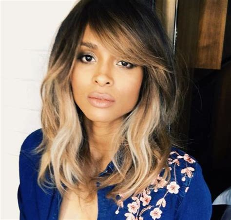gorgeous side swept bangs hairstyles   face shape