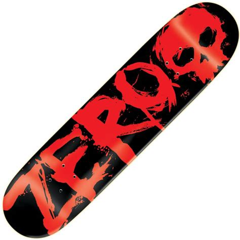Zero Skateboard Decks by Zero Skateboards Zero Blood Mini Deck Zero Skateboards