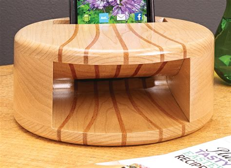 smartphone amplifier woodworking project woodsmith plans