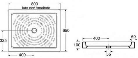 piatto doccia 65x80 piatto doccia 65x80 h 10 cm rettangolare in porcellana