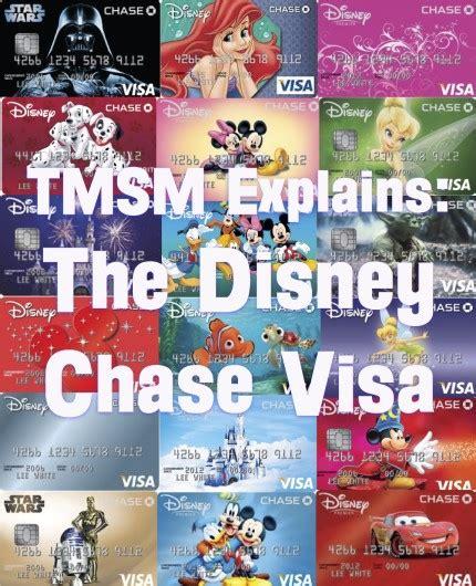 tmsm explains  disney chase visa  main street mouse