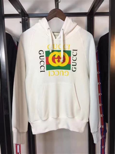 jual best sellers jual kaos pria gxxci hoodie logo with snake sweatshirt mirror quality murah di