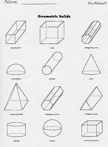 Gallery  Montessori Geometric Solids Worksheets