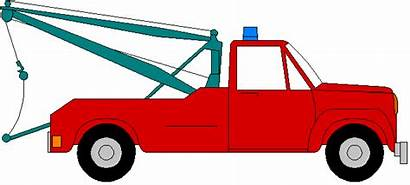 Truck Tow Clip Clipart Pickup Christmas Towing