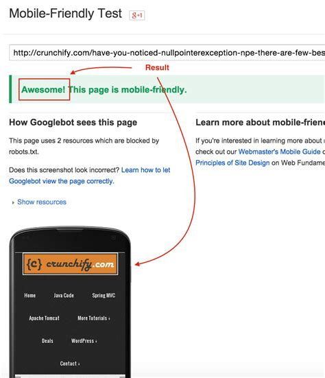 How Check Fix Test Mobile Usability Error Almost