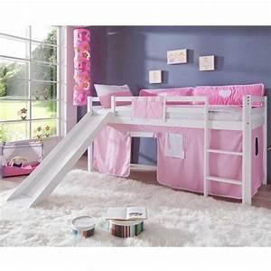 Funktionsbett Mädchen : m dchen hochbett in wei rosa rosa ideen rund ums haus ~ Pilothousefishingboats.com Haus und Dekorationen