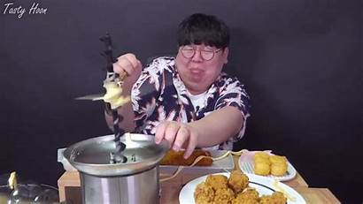 Cheese Hoon Viral Fondue Disaster Korean Machine