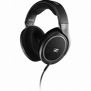Sennheiser HD 558 Open-Back Around-Ear Stereo Headphones HD558  Sennheiser