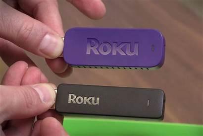 Stick Roku Streaming Purple 3600r Box Remote
