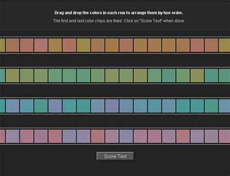 color arrangement test l orthoptie pour les nuls et les autres testez votre