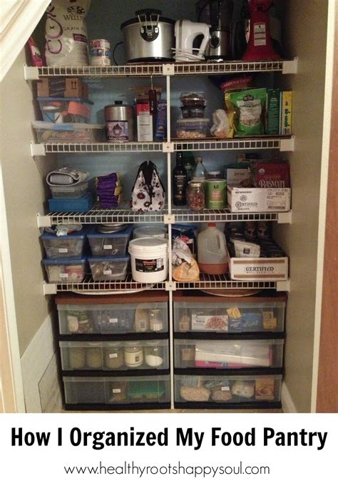naturally loriel how i organized my food pantry