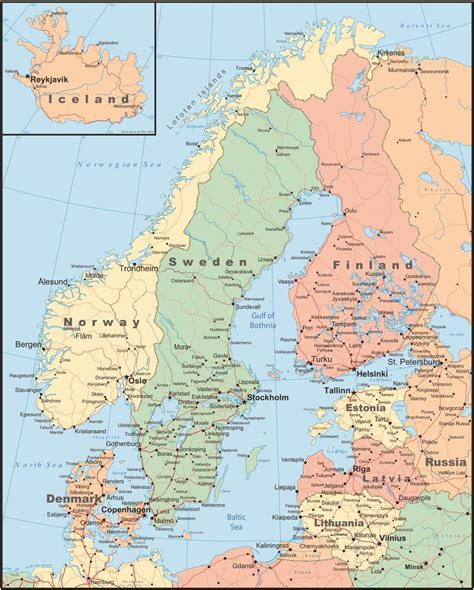 view  map  scandinavia  learn   variety