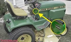 John Deere 314 Parts Manual
