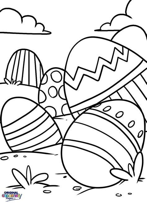 Color Pages Easter by Easter Coloring Pages Original Coloring Pages