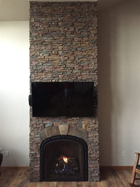 faux fireplace panels interior chimney gets new finish creative faux panels 7184
