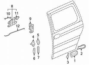 Chevrolet Venture Actuator  Lock  Latch Release  Montana