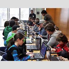 Okanagan Students Learn That Computer Coding Isn't Just