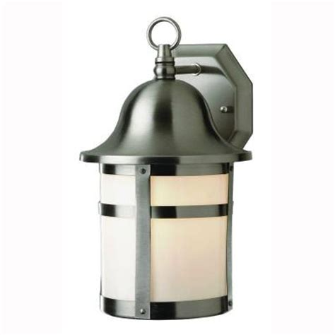 bel air lighting energy saving 1 light outdoor brushed