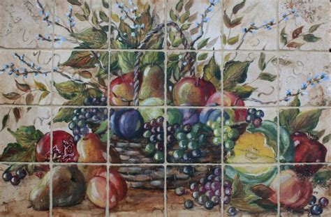 contemporary fruit wall for kitchen house decor picture