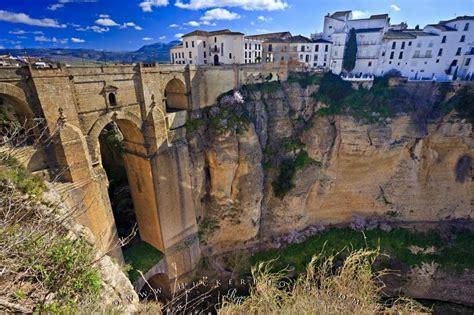 Puente Nuevo New Bridge Ronda Malaga Andalusia Spain