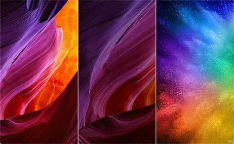 check  stock wallpapers   xiaomi mi mix