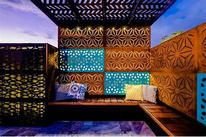 Panels Decorative Fence Privacy Outdeco Screens Garden