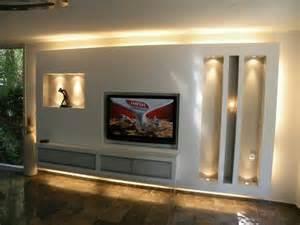 wohnzimmer fernsehwand trockenbau tv wand sweet home tvs und wände